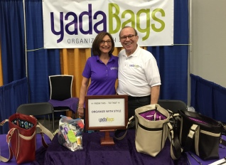 YadaBags Inventor Janet Goodman with her husband, Fred