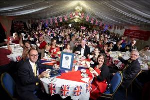 More than 330 tea  enthusiasts gather for a record-setting cream tea party